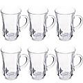 413 Чайный набор 6пр стекло (х8)