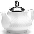 26593-1 Заварочный чайник БЕЛЫЙ 750мл LR (х24)