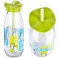 80540-1 Бутылка для смузи стекло 0,5 л САЛАТОВАЯ MB (х24)