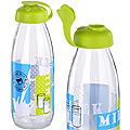 80542-1 Бутылка для напитков стекло 0,5 л САЛАТОВЫЙ MB (х24)