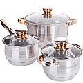 26034-2 Набор посуды 6пр 2,1+2,9+3,9 л MB (х1)
