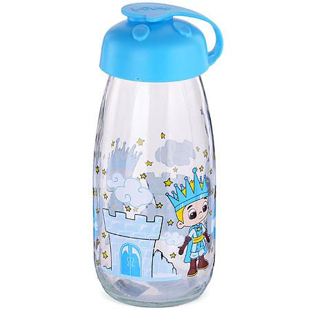 80546-1 Бутылка для напитков стекл 0,25 л ГОЛУБАЯ MB (х24)