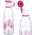 80551-1 Бутылочка для жидкости стекло 0,5 л РОЗОВАЯ MB (х24)