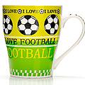 26657-2 Кружка 340мл Футбол подар/упак LR (х48)