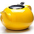 26596-2 Заварочный чайник ЖЕЛТЫЙ 750мл LR (х24)