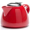 26598-3 Заварочный чайник КРАСНЫЙ 700мл LR (х24)