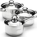 25664 Набор посуды 6пр 2,1+2,9+3,9см нерж MB (х4)