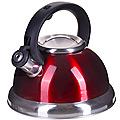 28447 Чайник 3 л нерж/сталь со свистком MB (х12)