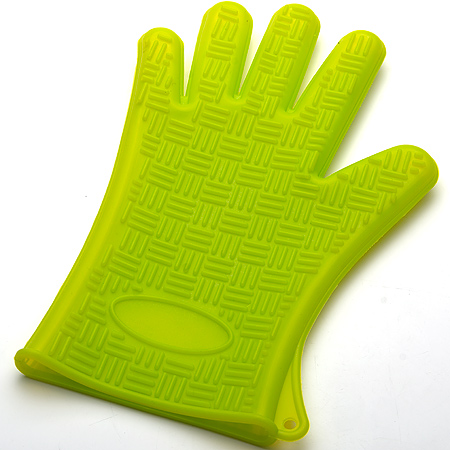 4427-2 Прихватка-перчатка ЗЕЛЁНЫЙ силик.MBXL(х96)