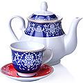 27842 Чайный сервиз 13 пр керамика 220мл LR (х4)