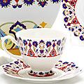 26619 Чайная пара 4пр (чашка180мл+блюдце) LR (х16)