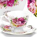 26620 Чайная пара 4пр (чашка180мл+блюдце) LR (х16)
