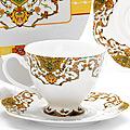 26623 Чайная пара 2пр (чашка180мл+блюдце) LR (х30)