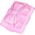 21981-1 Форма д/кекса силикон розовая 1,4л 31х23х6 МВ(х72)
