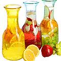 27812 Бутылка стеклянная 1 литр (в ассортименте) LR (х12)