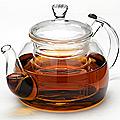 24938 Заварочный чайник стекло 800мл с/кр МВ (х16)