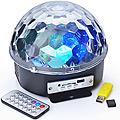 55580 Музыкално-новогодний диско-шар с пульт(х18)