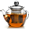 26198 Заварочный чайник стекло 200мл+сито MB (х72)