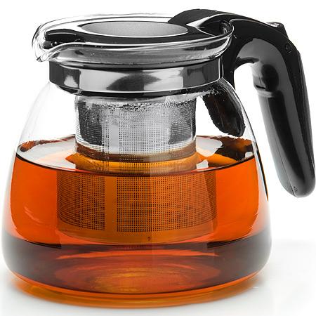 26202 Заварочный чайник стекло 900мл+сито MB (х24)