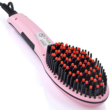 11192 Рассчёска-выпрямитель для волос 65Вт ZM(х24)