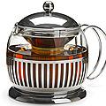 27596 Чайник/завар стекло+метал 1,2 сито MB (х12)