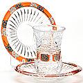 24680 Набор стаканов + блюдца 12пр 190 мл LR (х6)