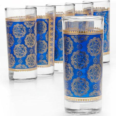 25762 Набор стаканов 6пр 260мл стекло LR (х6)
