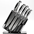 20137 Набор ножей кованые(8пр) MB пласт/подст (x4)