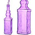 28194-5 Бутылка для масла 1000 мл стекло ФИОЛЕТОВЫЙ  LR (х12)