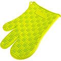 21941 Перчатка СИЛИКОНОВАЯ 27х17 см МВ (х72)цвет желтый.зеленый
