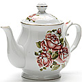 24582 Заварочный чайник 800мл с/кр керам LR (х12)