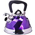 23785 Чайник мет 3л со свистком фиолет МВ (х12)