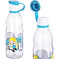 80551 Бутылочка для жидкости стекло 0,5 л ГОЛУБАЯ MB (х24)