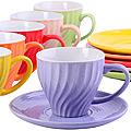 26552 Чайный сервиз 12 пр 240 мл в под/упак LR(х6)