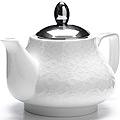 26591-1 Заварочный чайник БЕЛЫЙ 750мл LR (х24)