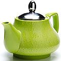 26592-1 Заварочный чайник ЗЕЛЕНЫЙ 750мл LR (х24)