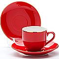 24750 Кофейный набор 8пр 80мл кост/фарф LR (х16)