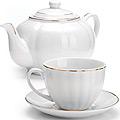 26421 Чайный сервиз 13пр (220мл+1л чайник) LR (х4)