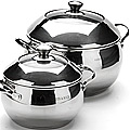 20849 Посуда(4пр.сфера,мет руч)2,8+6,3 л (х2)