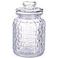 28102 Банка для сыпучих 1000мл стекло LR (х12)