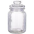 28103 Банка для сыпучих 600мл стекло LR (х12)
