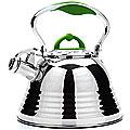 22785 Чайник мет 3л ручка зеленая МВ (х12)