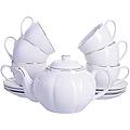 25934 Чайный сервиз14пр с чайником 1л LR (х4)