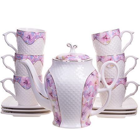 26837 Чайный/сер. 13пр (220мл+1,3л чайник) LR (х4)
