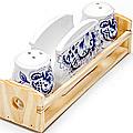 24821 Набор для специй 4пр керамика LR (х36)