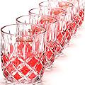 20221-3 Набор стаканов 6 предметов КРАСНЫЙ LR(х12)