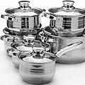 26035 Наб/посуды 12пр 2,1+2,1+2,9+2,9+3,9+6,6л. MB (х2)
