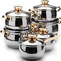 26041 Наб/посуды 12пр 2,1+2,1+2,9+2,9+3,9+6,6л.MВ (х2)