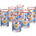24075 Набор стаканов 6пр (370мл) LR (х6)