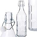27060 Бутылка 1,2 л стекло КУБ MB (х12)